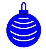 Christmas ball pattern