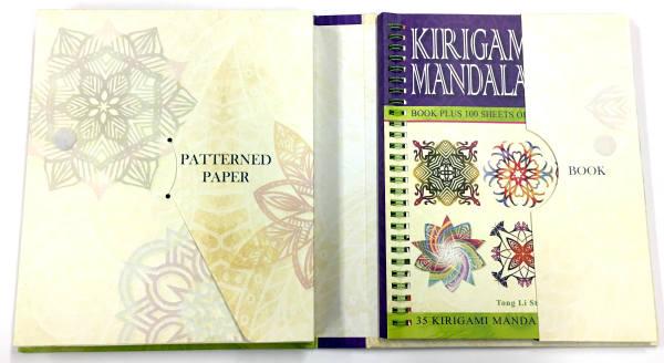 Kirigami Mandalas, paper cutting, snowflake paper cutting
