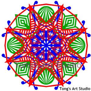 Layers Paper Cut Pattern-006