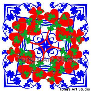 3 Layers Mandala Style Paper Cut Pattern-008