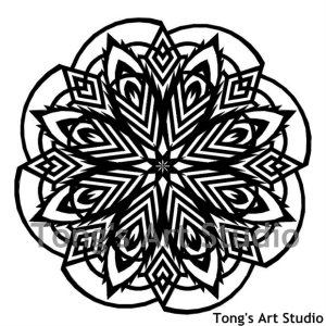 mandala style paper cutting patterns