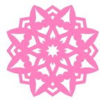 8-Sides Fold and Cut pattern