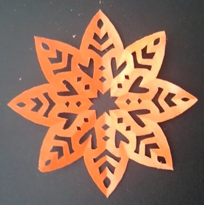 8-Sided Paper Cutting