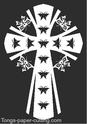 Butterfly-Cross Pattern-015