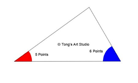 5 and 6 points folding template