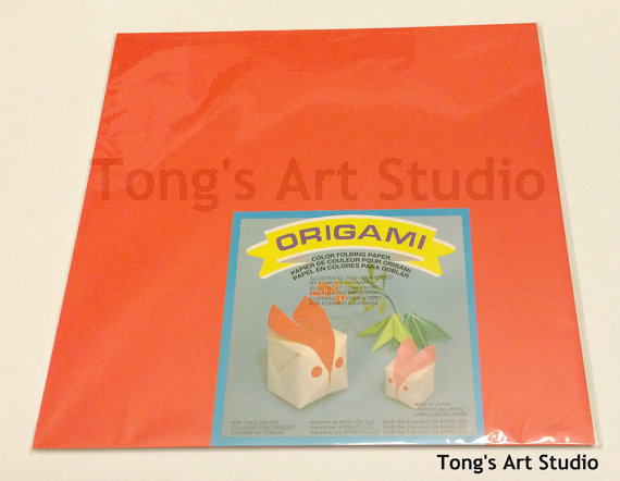 50 Origami paper, about 12