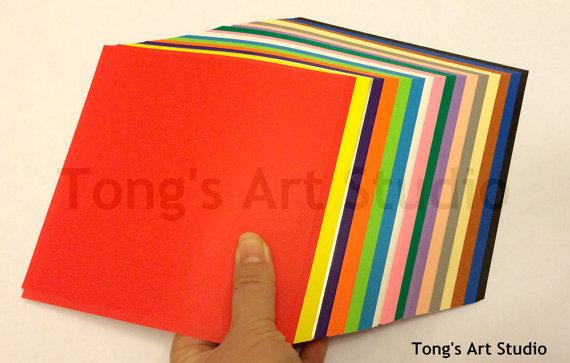 500 Origami paper